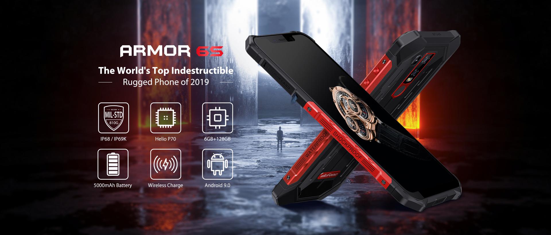 Ulefone spouští prodej Armoru 6S