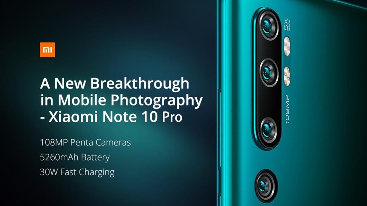 Xiaomi Mi Note 10 Pro a další modely v akci! [sponzorovaný článek]