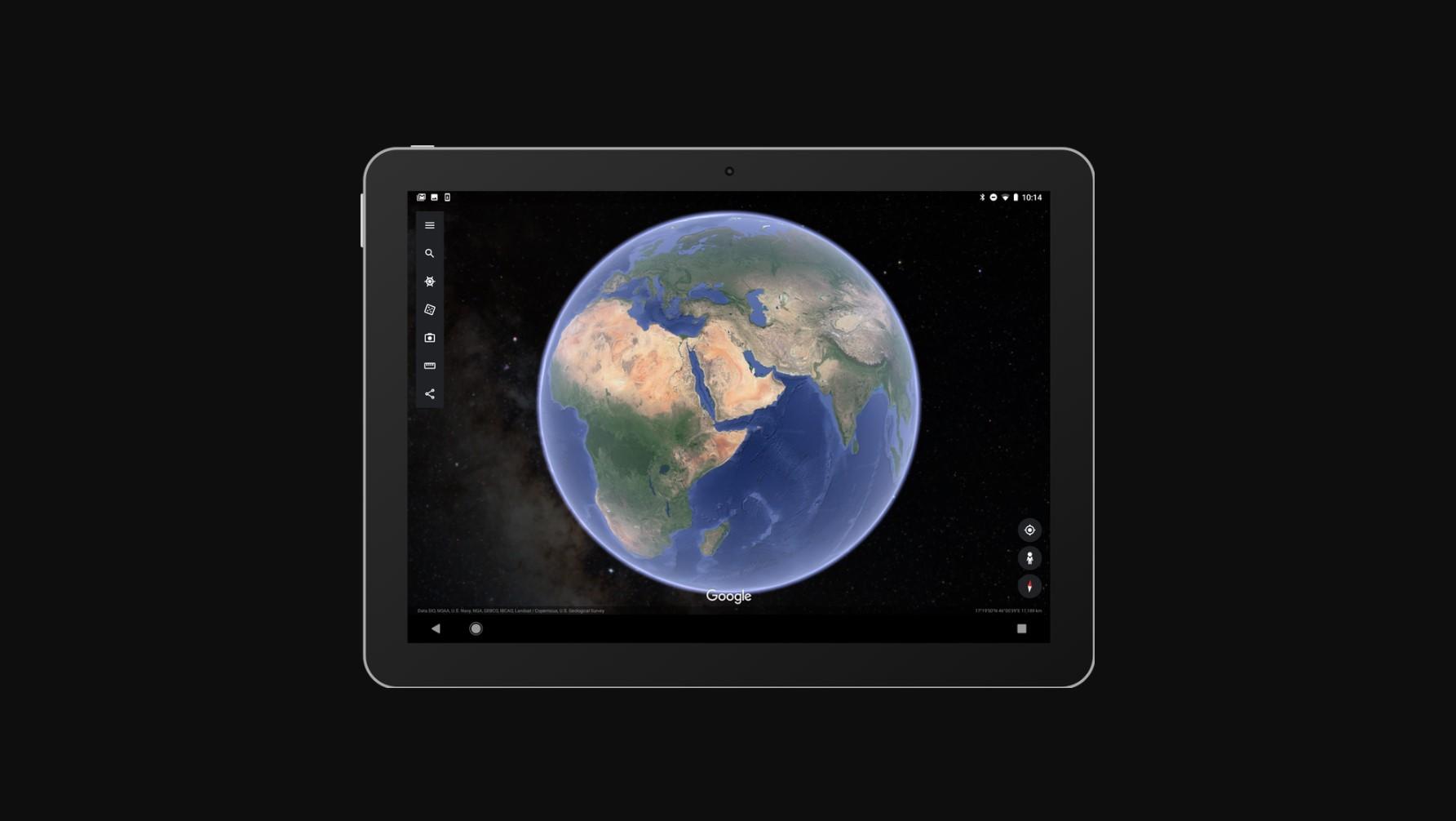 Google Earth nově s hvězdami, ale jen jako pozadí