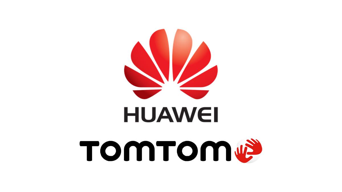 TomTom nahradí Google Mapy na Huawei smartphonech