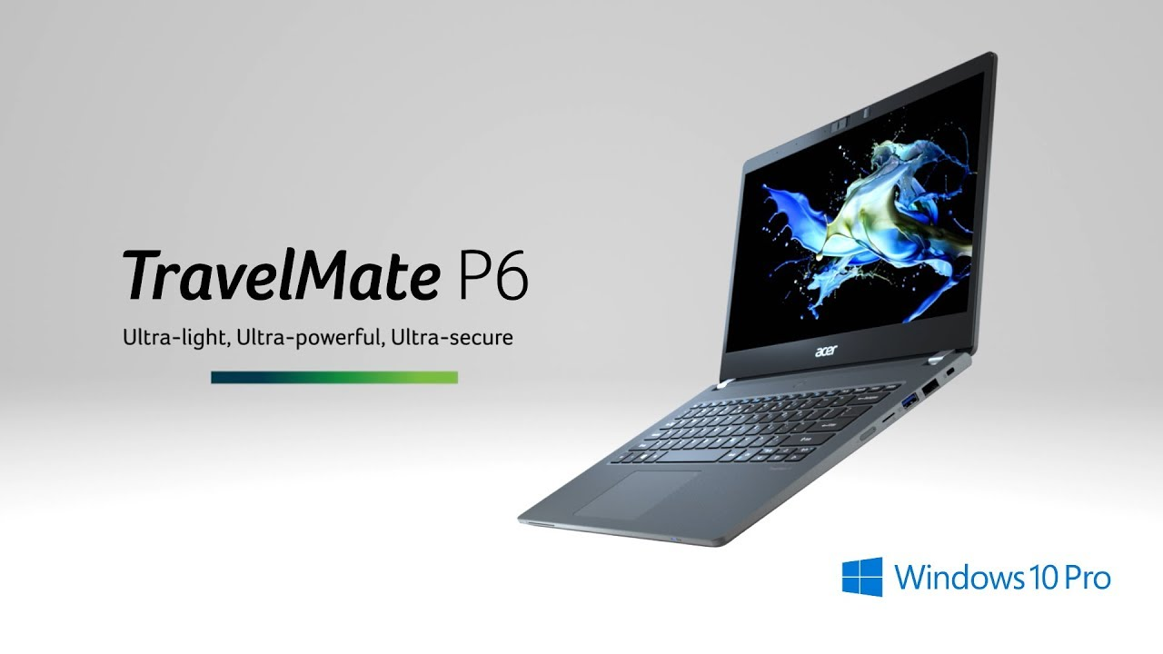 TravelMate P6 od Aceru se bude hodit náročným uživatelům na dlouhé cestování [CES]