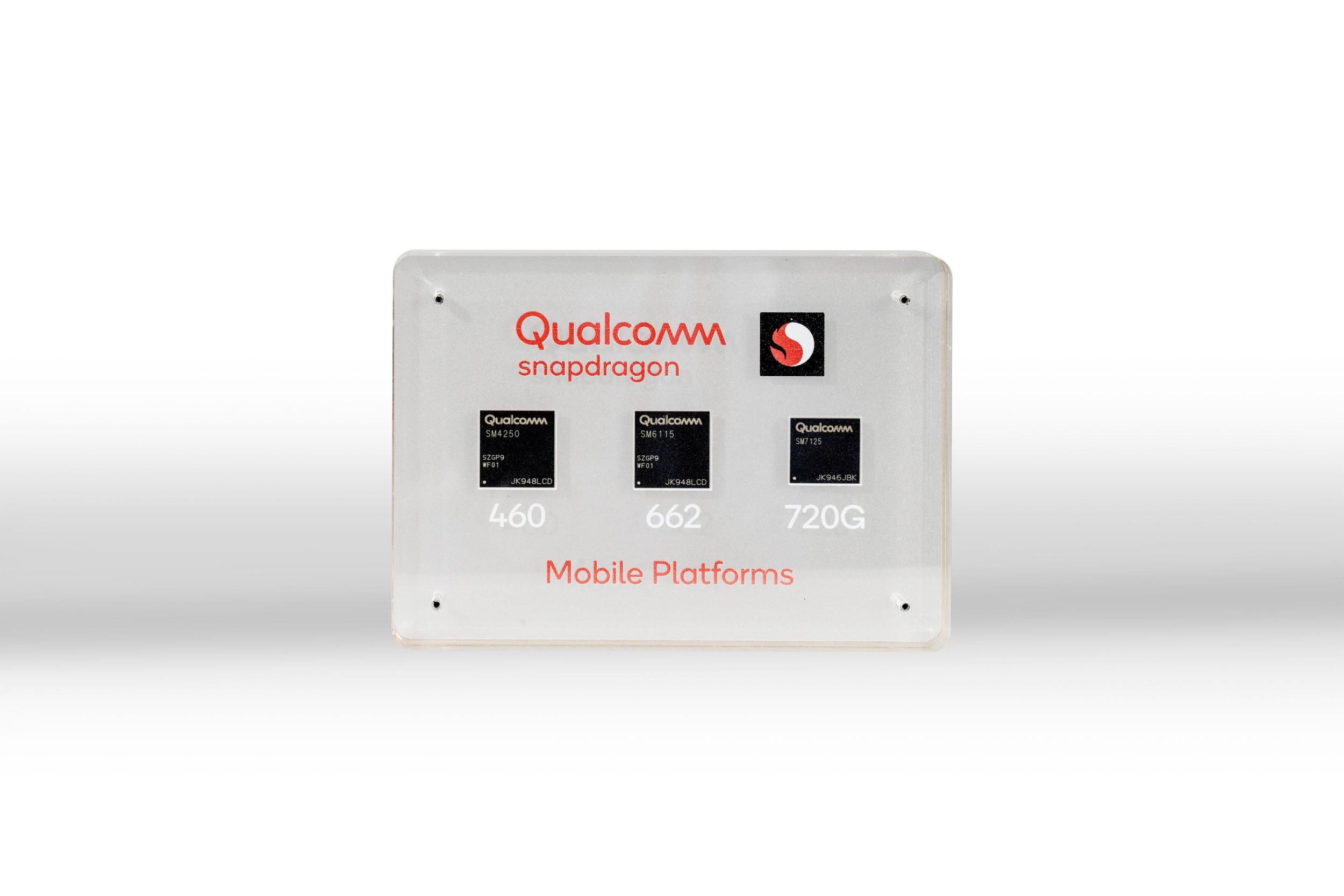 Qualcomm představil nové procesory Snapdragon 720G, 662, 460