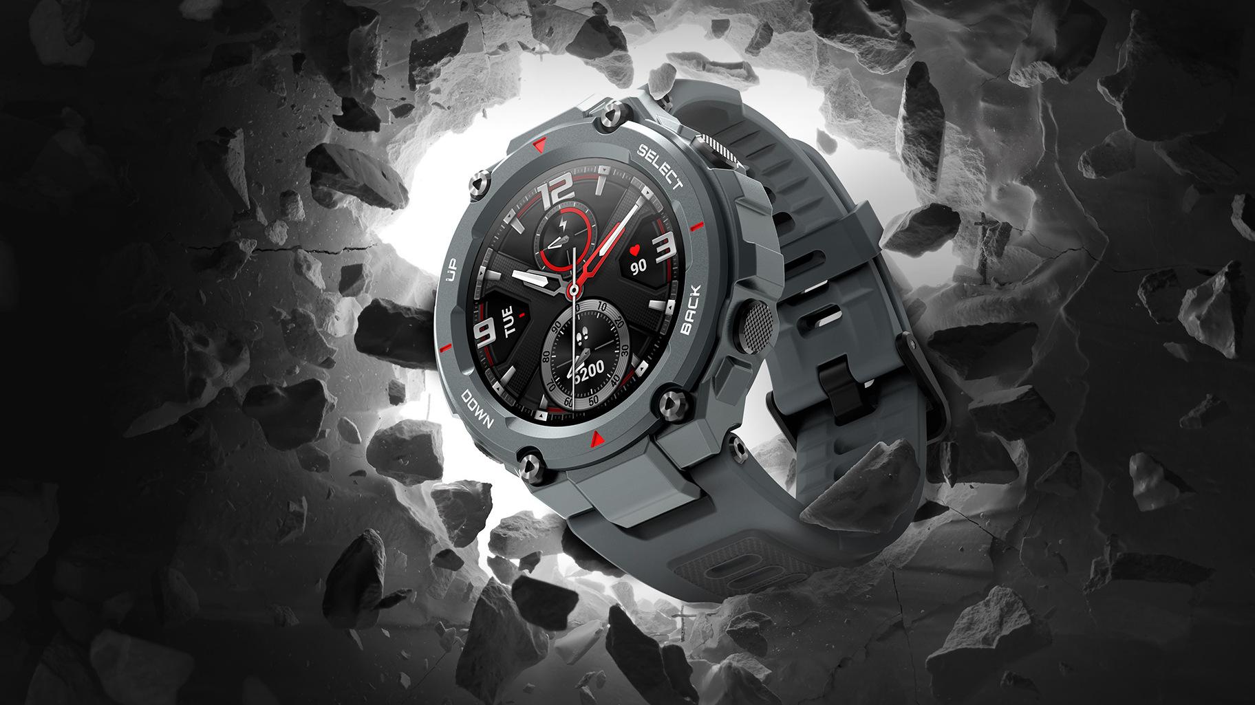 Amazfit T-Rex jsou nové chytré odolné hodinky [CES]