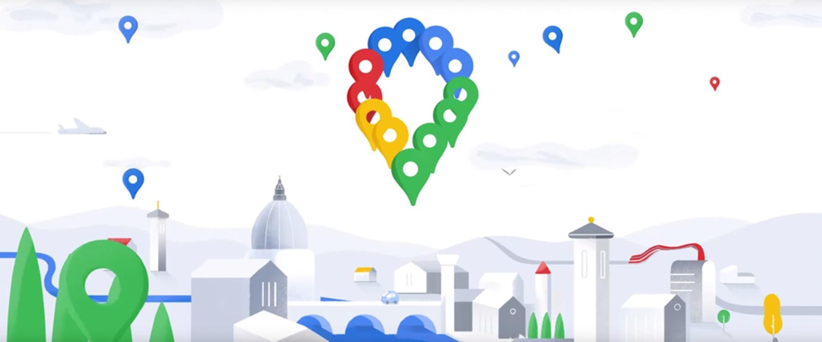 Google Mapy získávají nový design [aktualizováno]