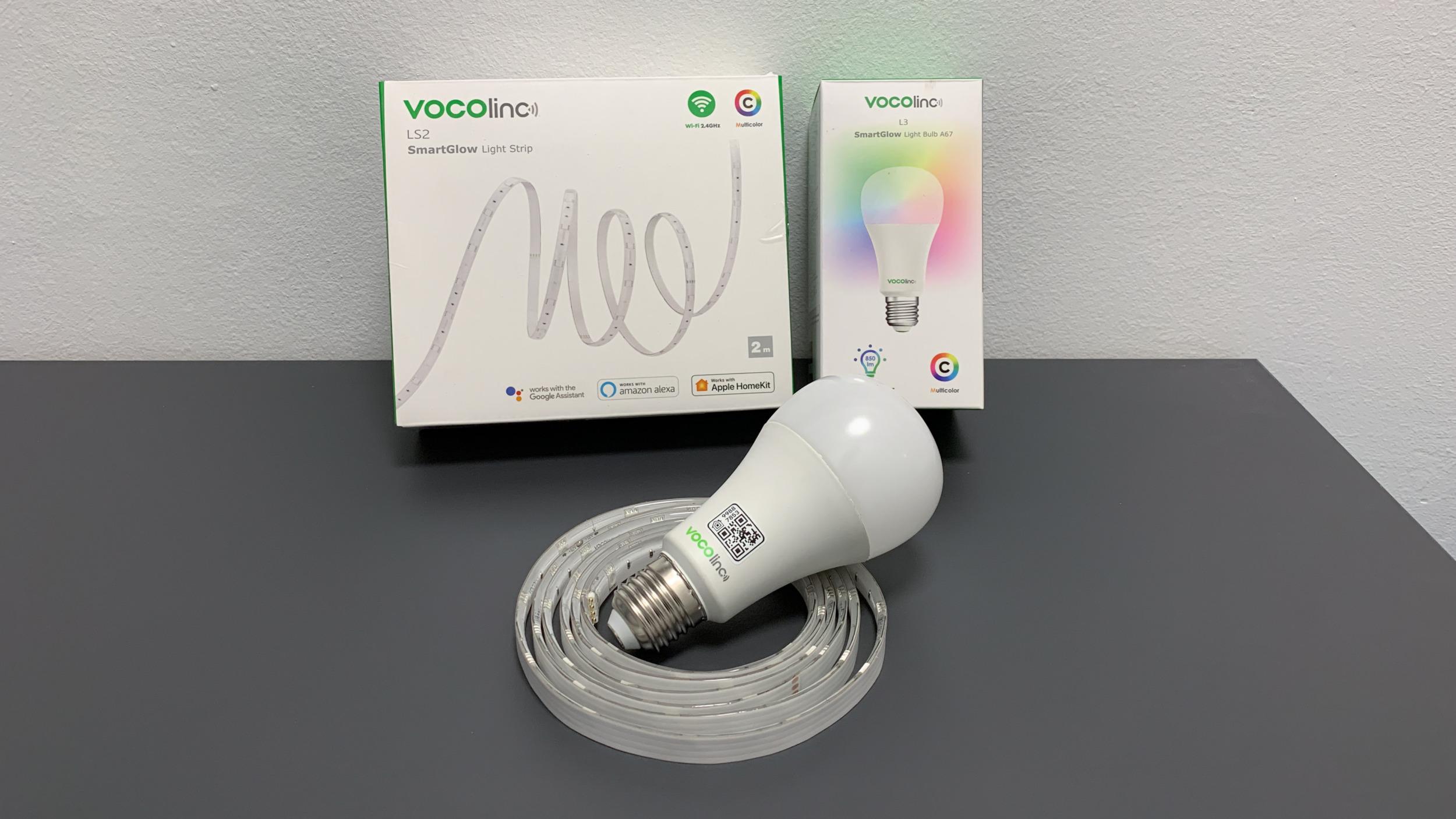 Vocolinc L3 ColorLight a LightStrip LS1 – chytrá žárovka a LED pásek [recenze]