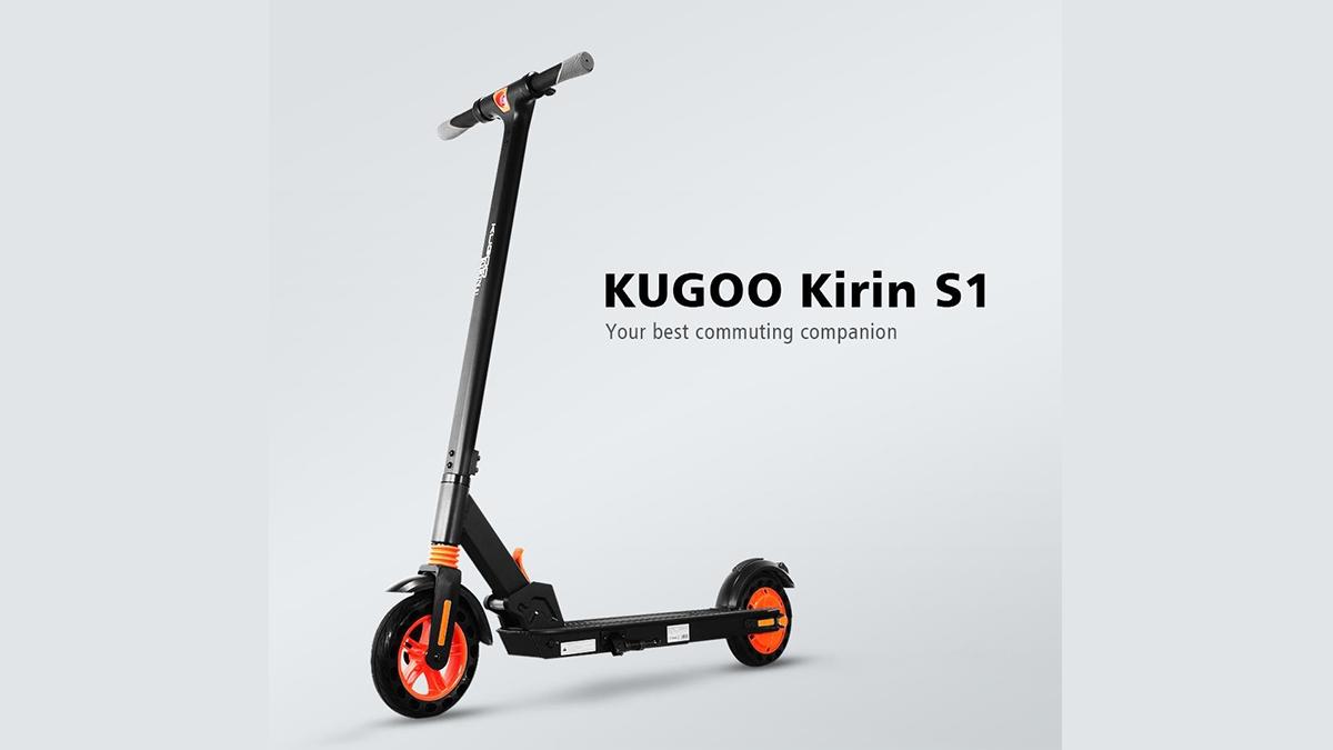 Kugoo KIRIN S1 elektrokoloběžka v akci! [sponzorovaný článek]