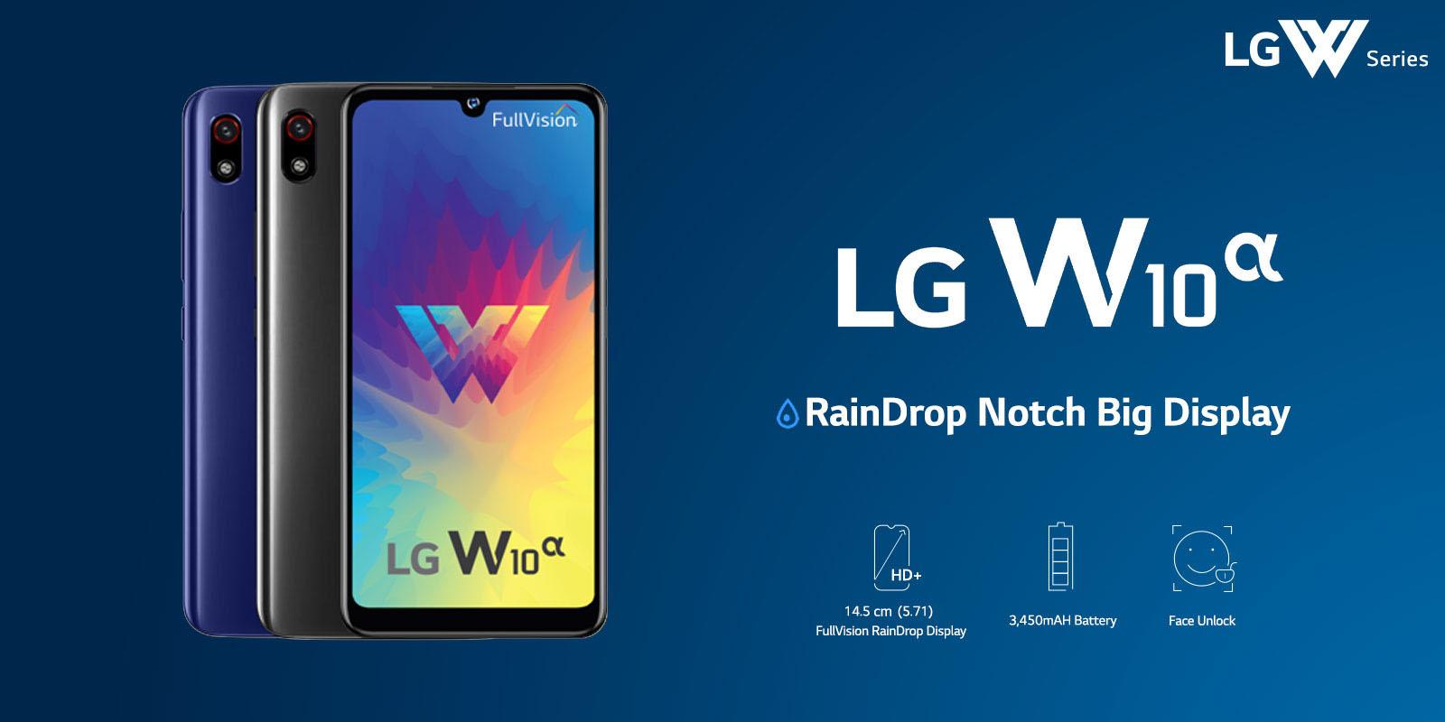 LG představilo ještě levnější LG W10 Alpha