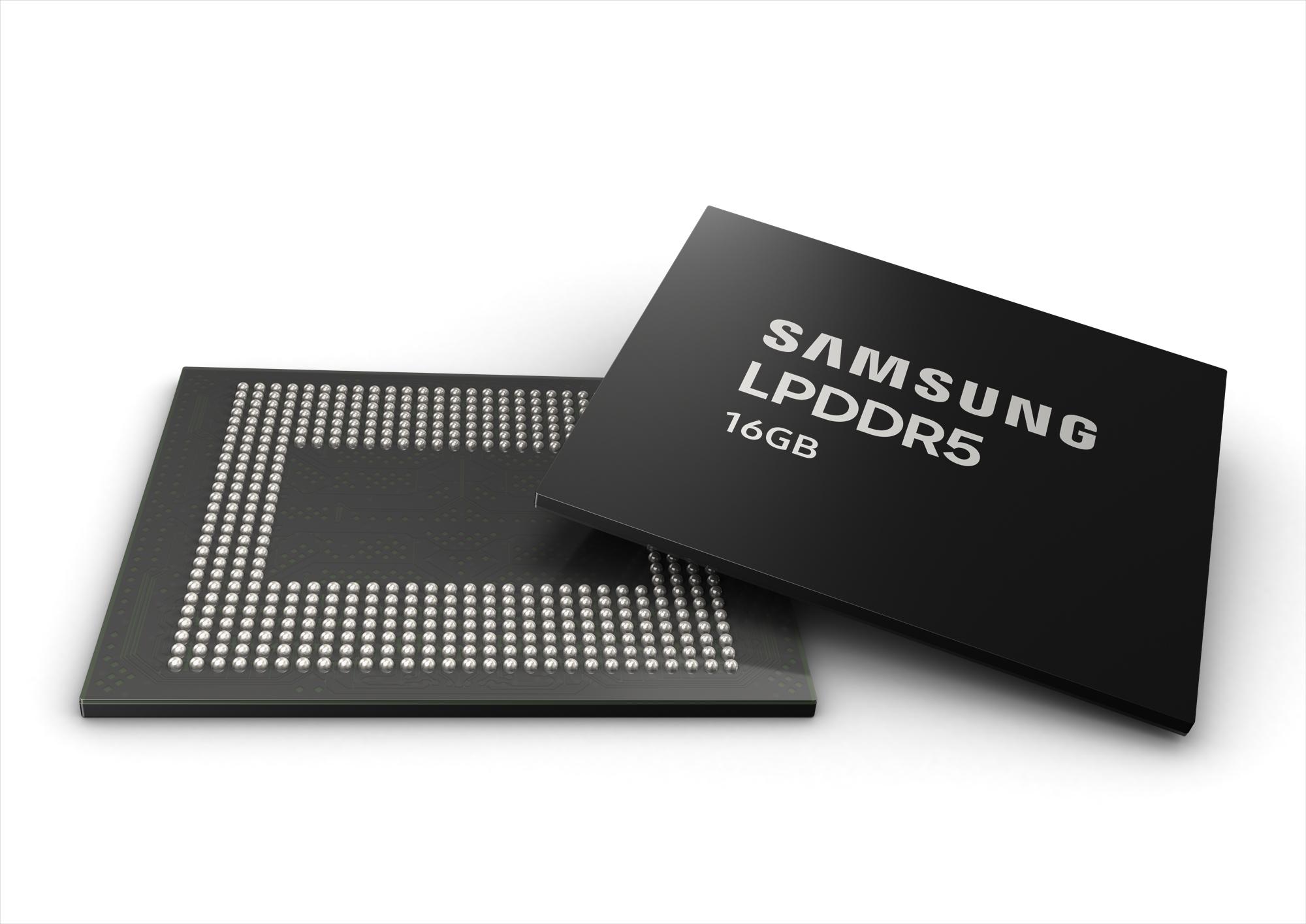 Samsung začíná vyrábět 16GB RAM pro mobily
