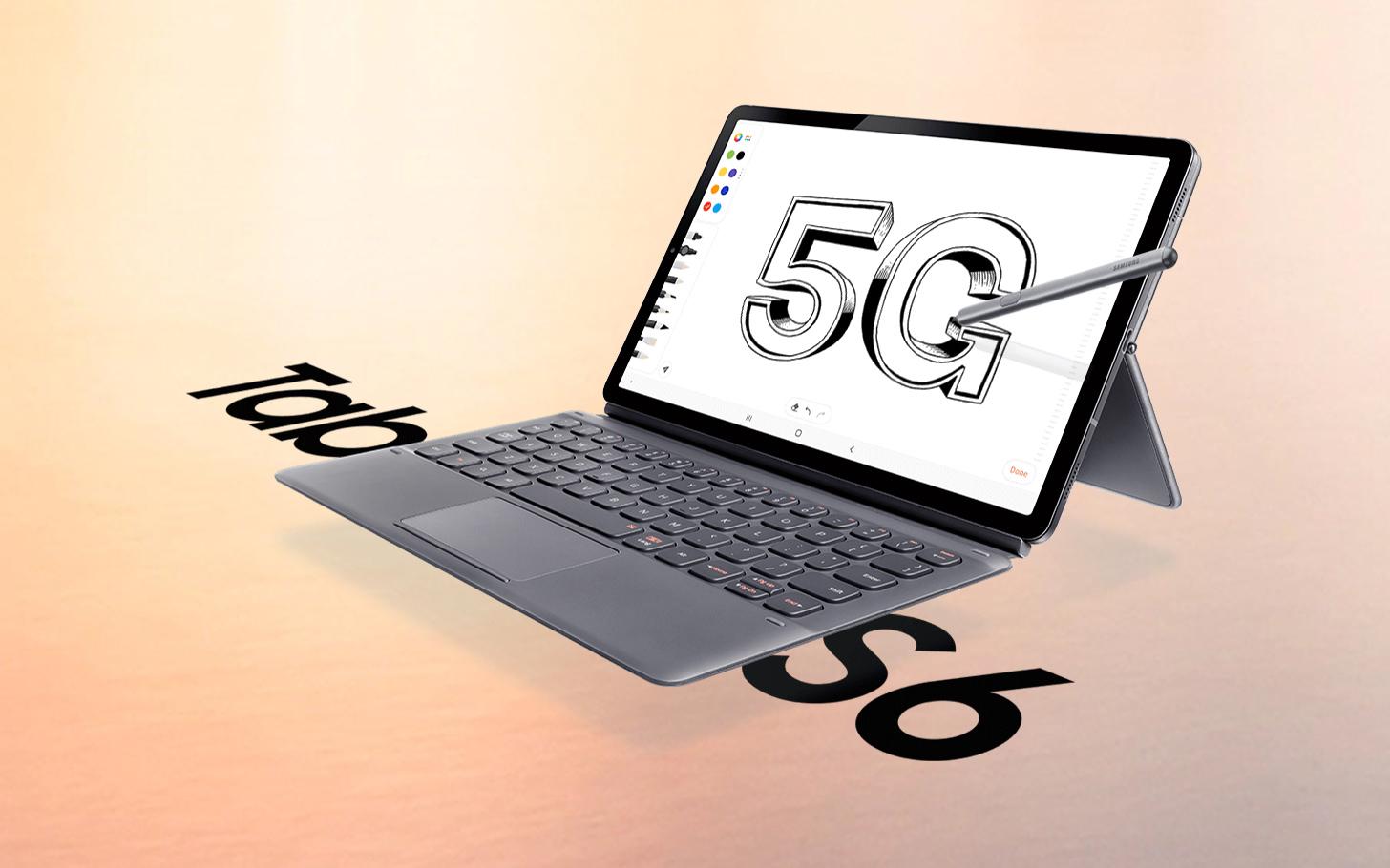 Samsung oficiálně oznamuje Galaxy Tab S6 5G