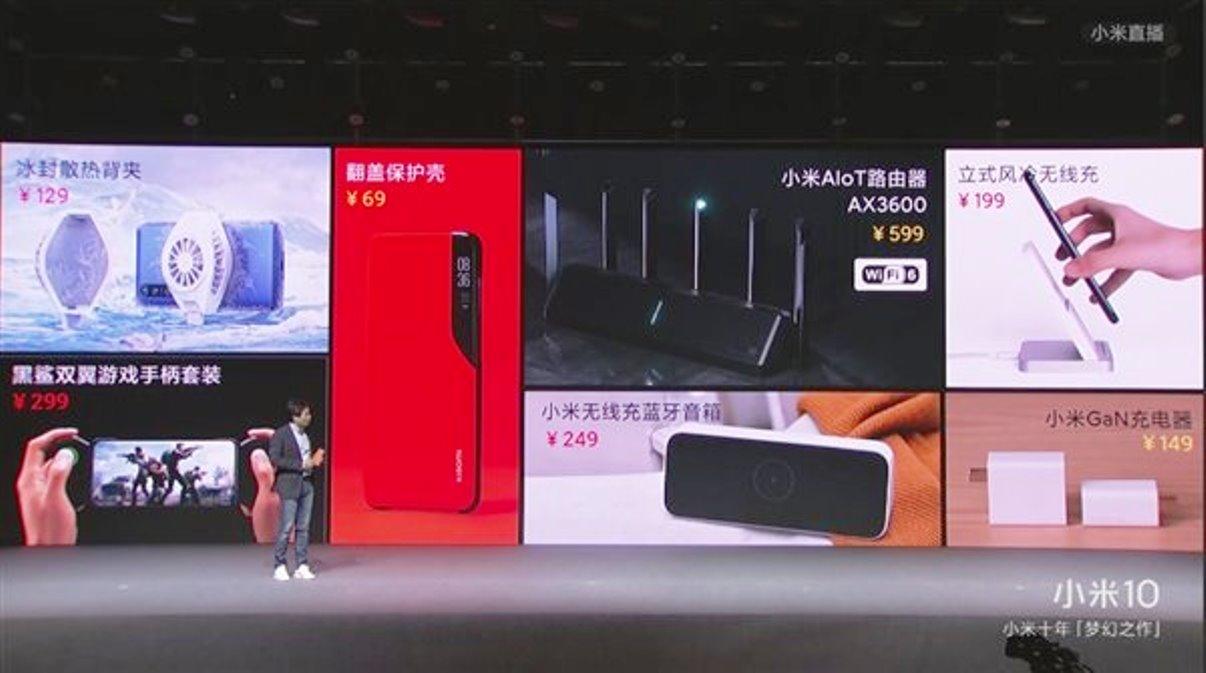 Xiaomi oznámilo hromadu nového příslušenství