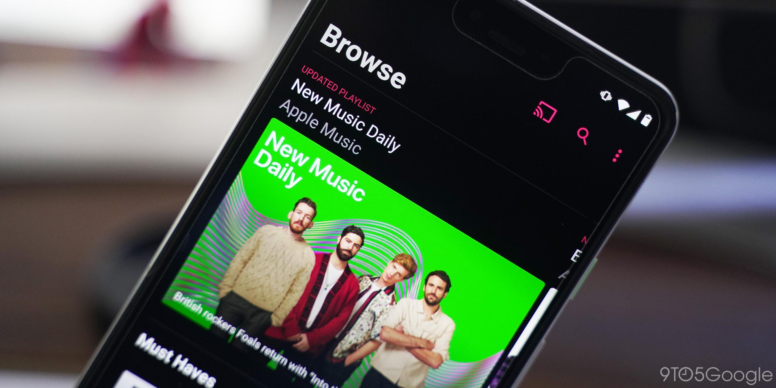 Apple Music podporuje Shazam pro Android