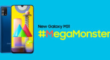Samsung Galaxy M31 oficiálně, nabízí 6000mAh baterii