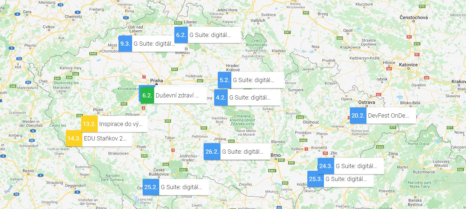 GUG.cz zve na technologicky zaměřené akce [únor]
