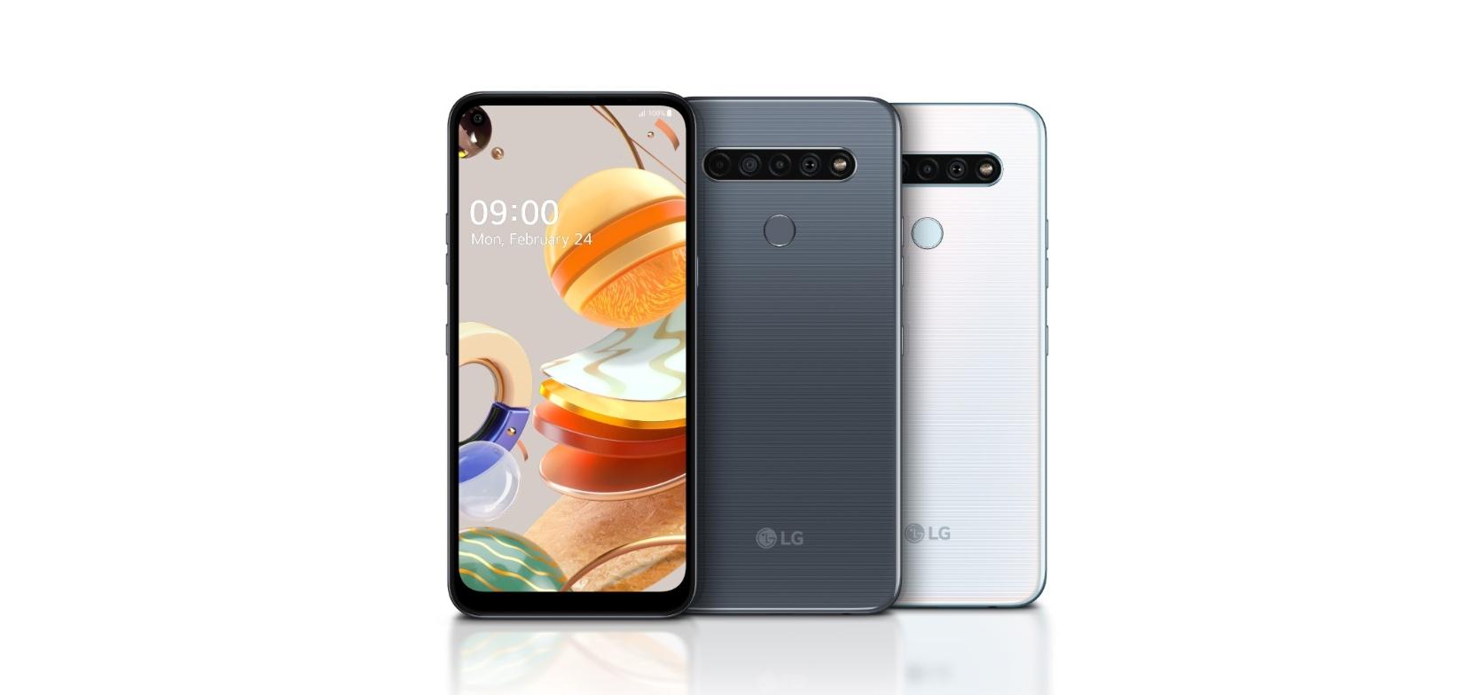 Nové mobily LG K61, K51S, K41S představeny