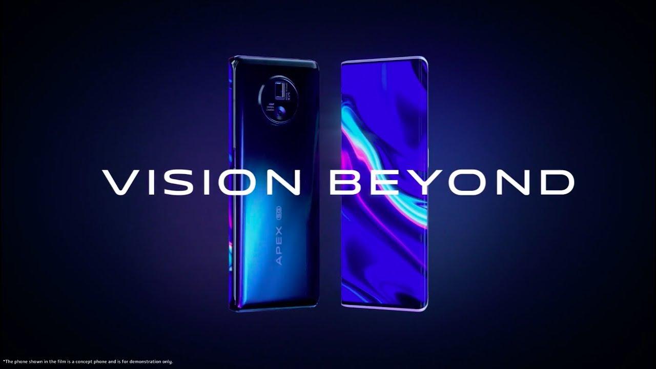 Vivo Apex 2020 představen, futuristický koncept mobilu
