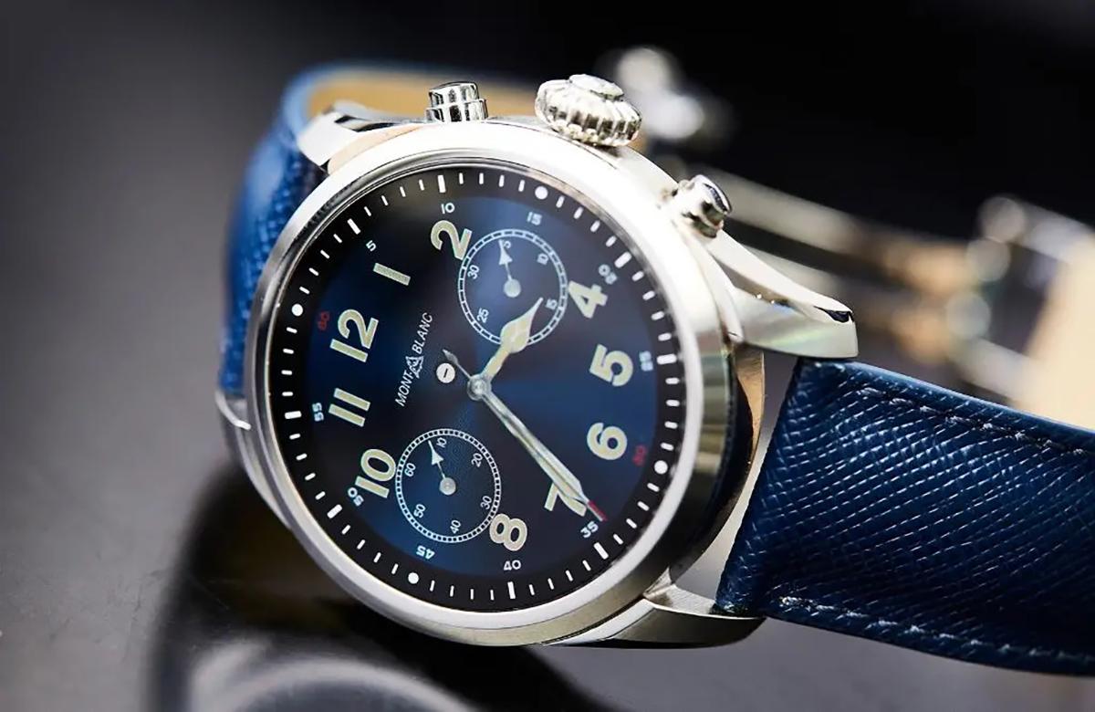Chytré hodinky nově v obchodech – Move 4, Printwell, Mont Blanc