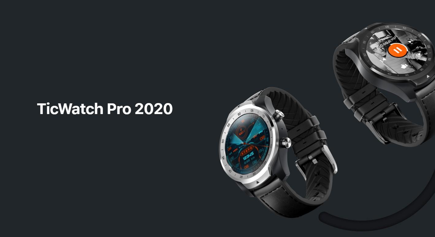 TicWatch Pro 2020 jsou nové hodinky s Wear OS