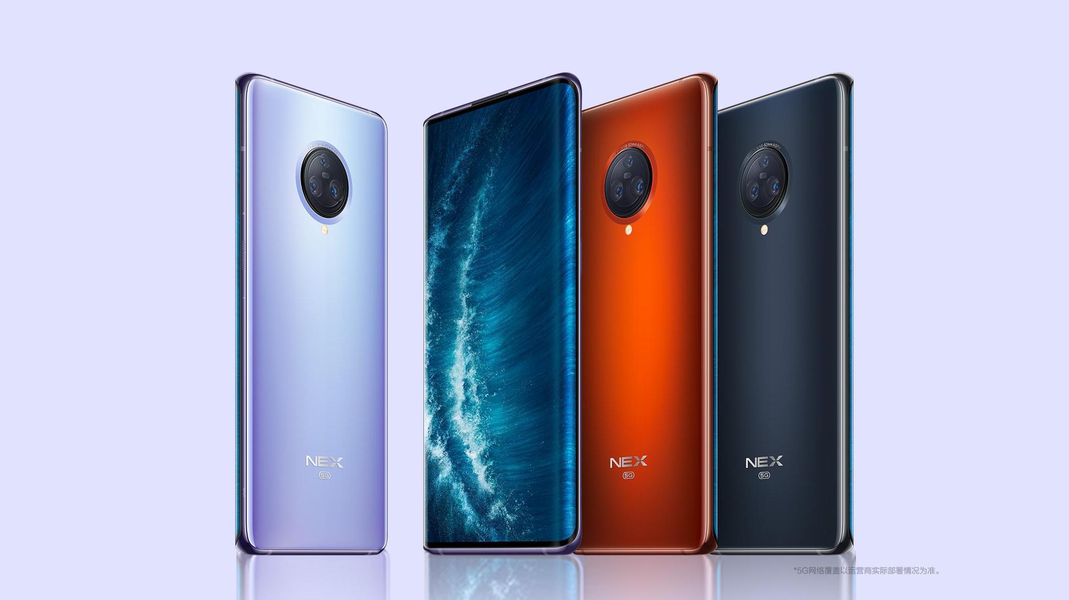Vivo NEX 3S 5G oficiálně, zapadne mezi top modely