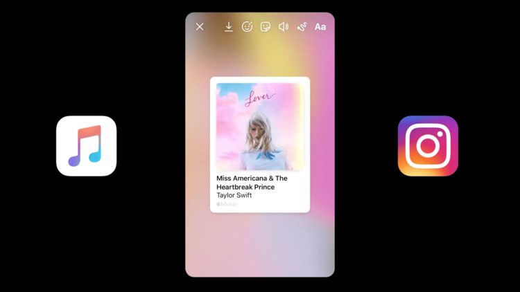 Apple Music iOS 1345 Instagram Facebook Stories 1920x1080x