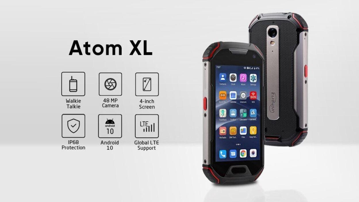 Unihertz oživuje miniaturní model Atom XL