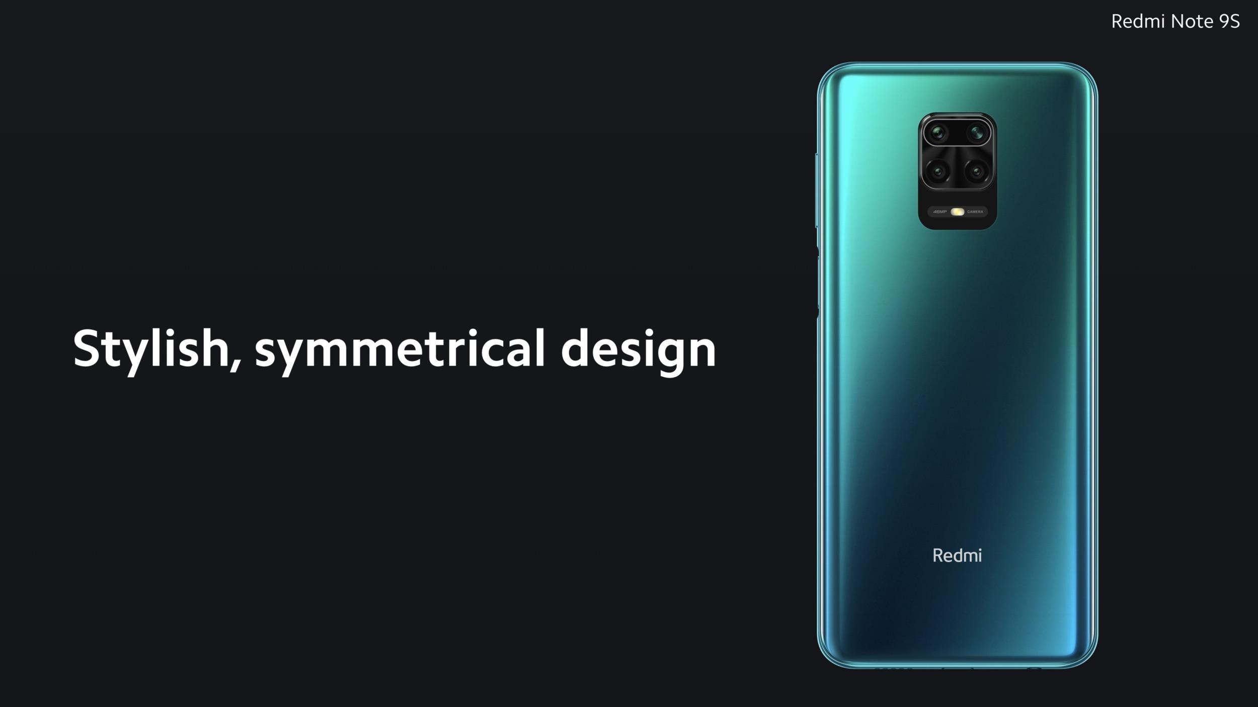 Redmi představilo Note 9S, jen přejmenovaný model