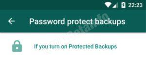 heslo pro zálohy