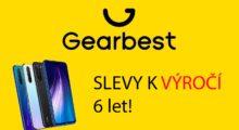 Gearbest slaví 6. narozeniny, prohlédněte si největší slevy! [sponzorovaný článek]