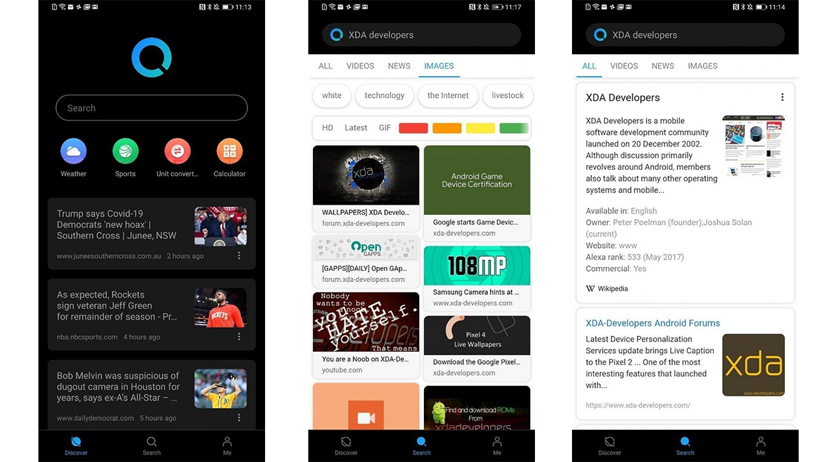 Huawei Search je alternativa pro Google aplikaci