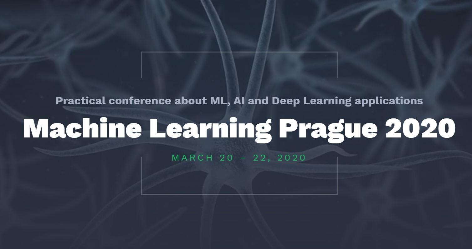 Konference Machine Learning Prague má nové datum [aktualizováno]