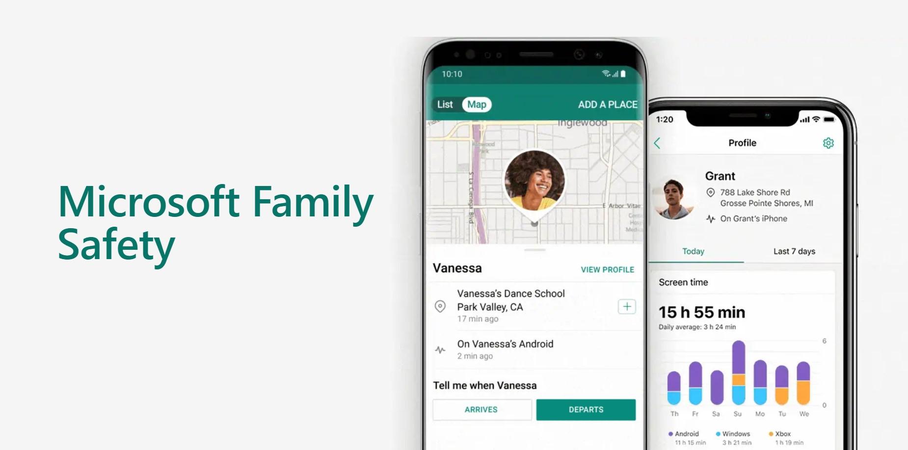Microsoft Family Safety přichází na Android a iOS [aktualizováno]