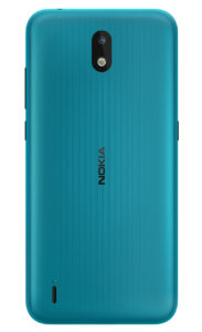Nokia 13 CYAN GREEN Rational BACK PNG 1036x1700x