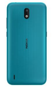 Nokia 13 CYAN GREEN Rational BACK PNG 1036x1700x