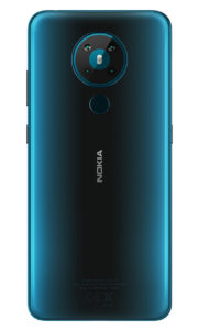 Nokia 53 Rational Cyan Blue Back PNG 994x1653x