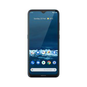 Nokia 53 Rational Cyan Blue Front HS DS PNG 2000x2000x