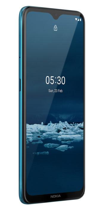 Nokia 53 Rational Cyan Blue RHS 45 LS SS PNG 833x1687x