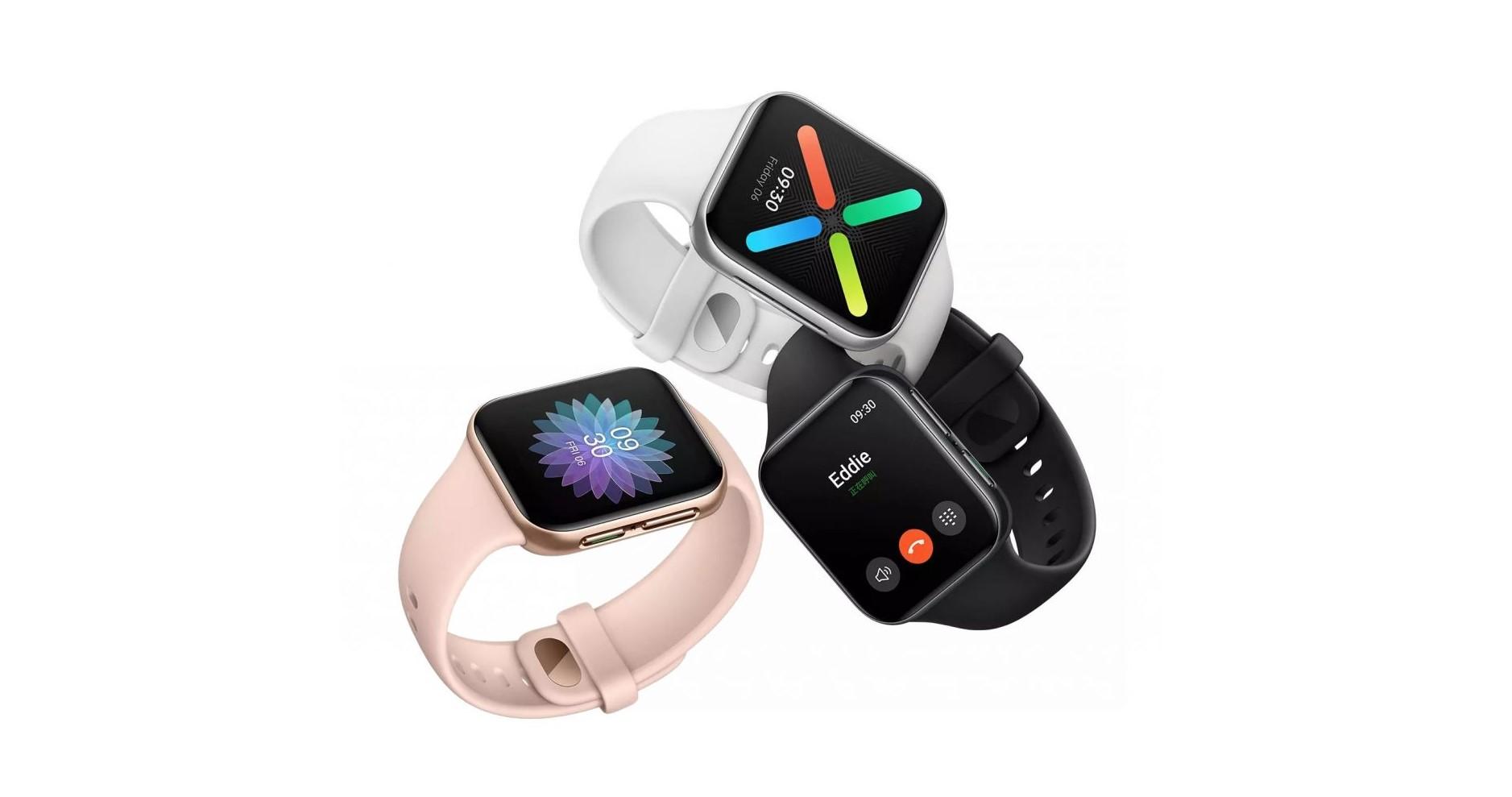 OPPO Watch jsou nové hodinky, připomínají Apple Watch