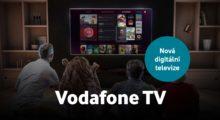 Vodafone TV je nová digitální televize