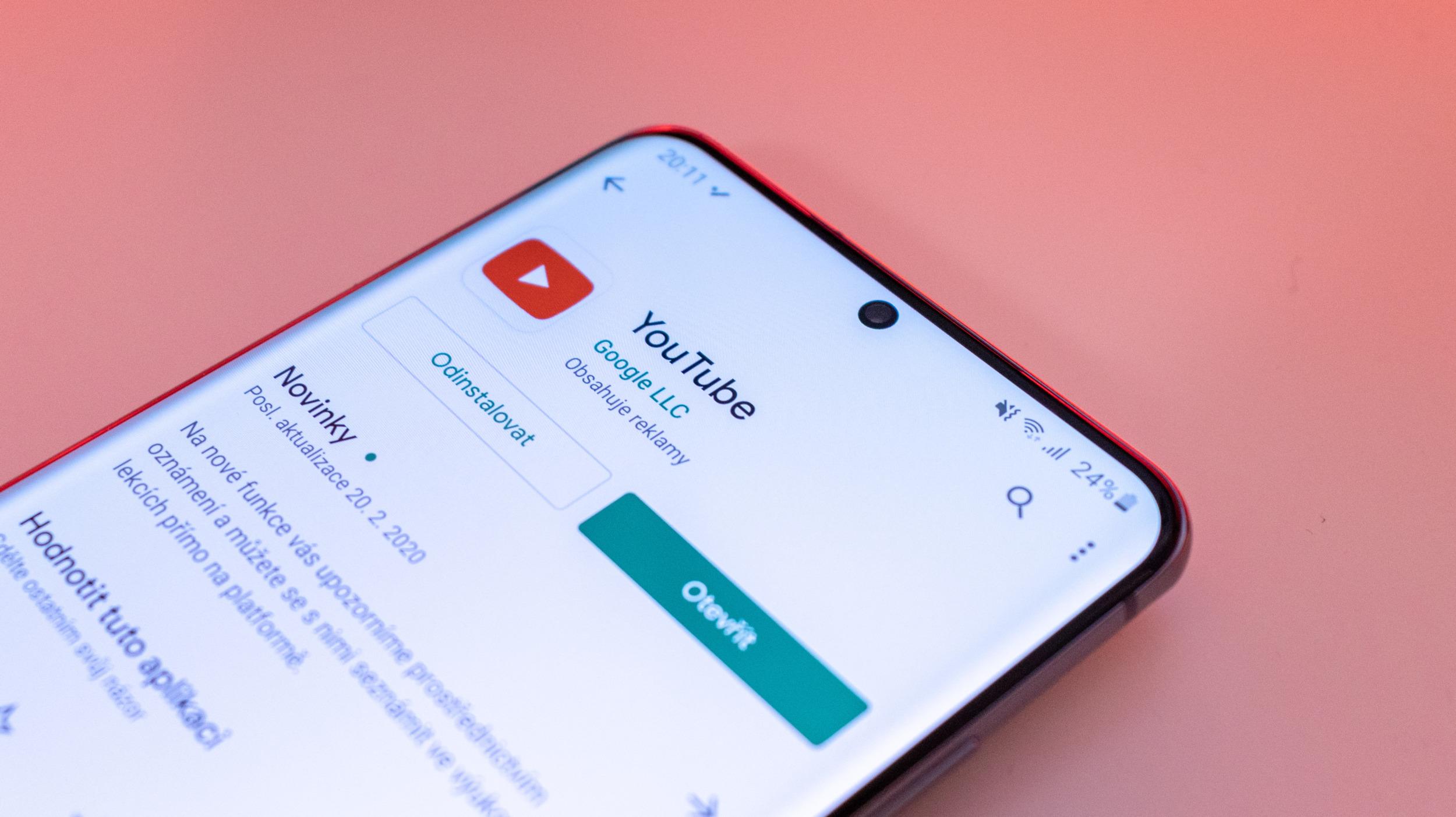 Youtube spouští kapitoly v aplikacích i na webu