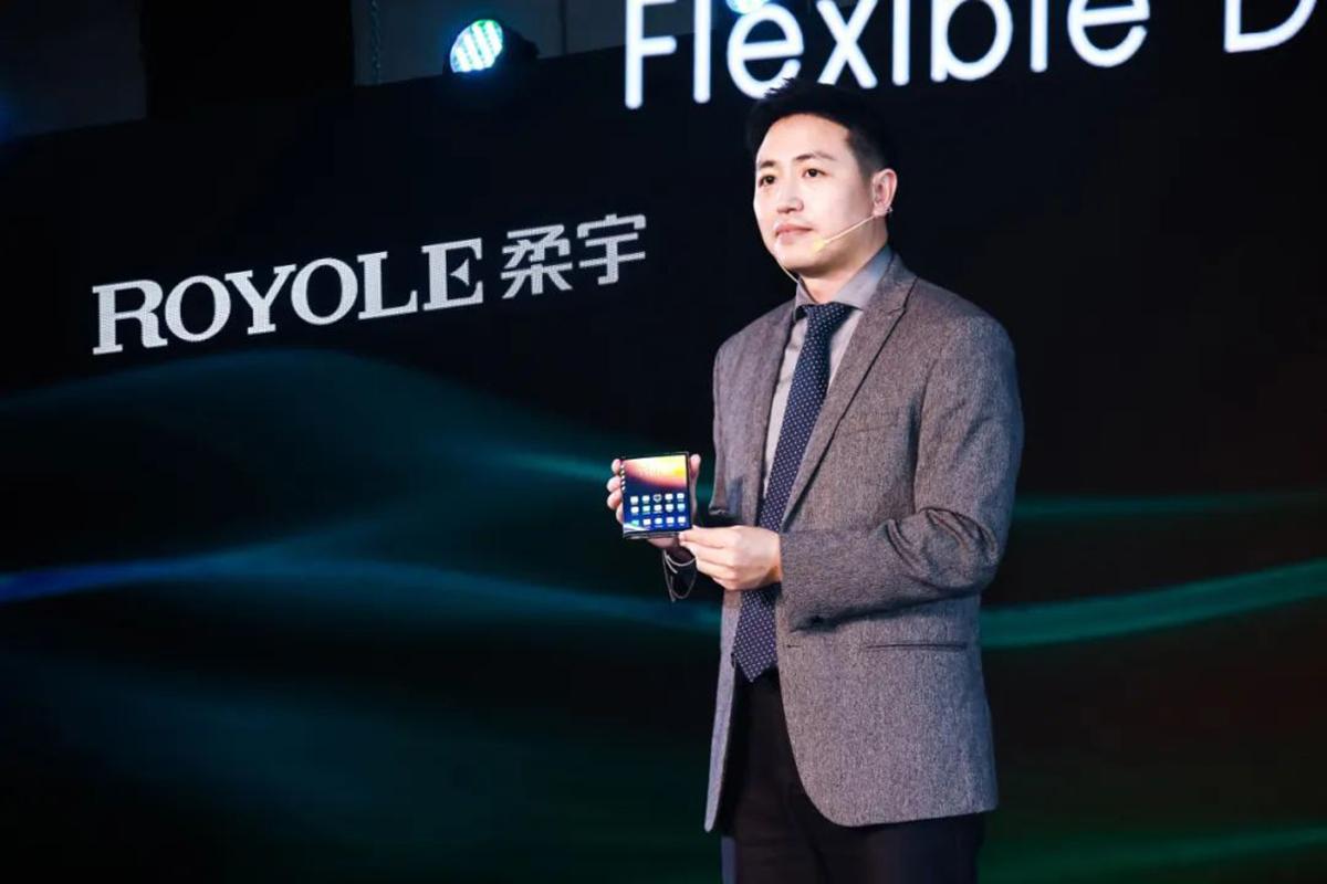 Firma Royole představila displej pro Flexpai 2