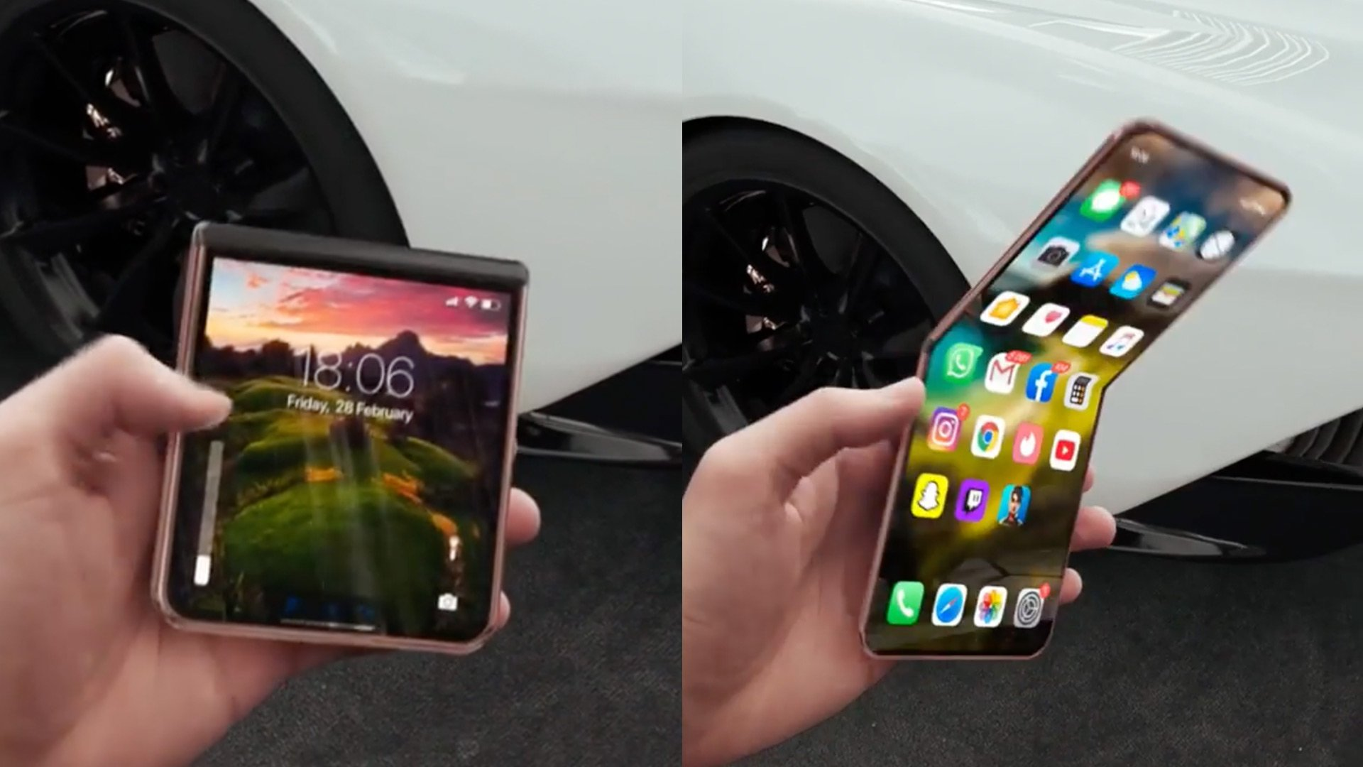 Skládací iPhone může mít keramický materiál
