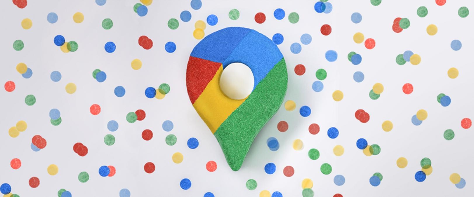 Google Mapy umožňují změnu šipky v navigaci