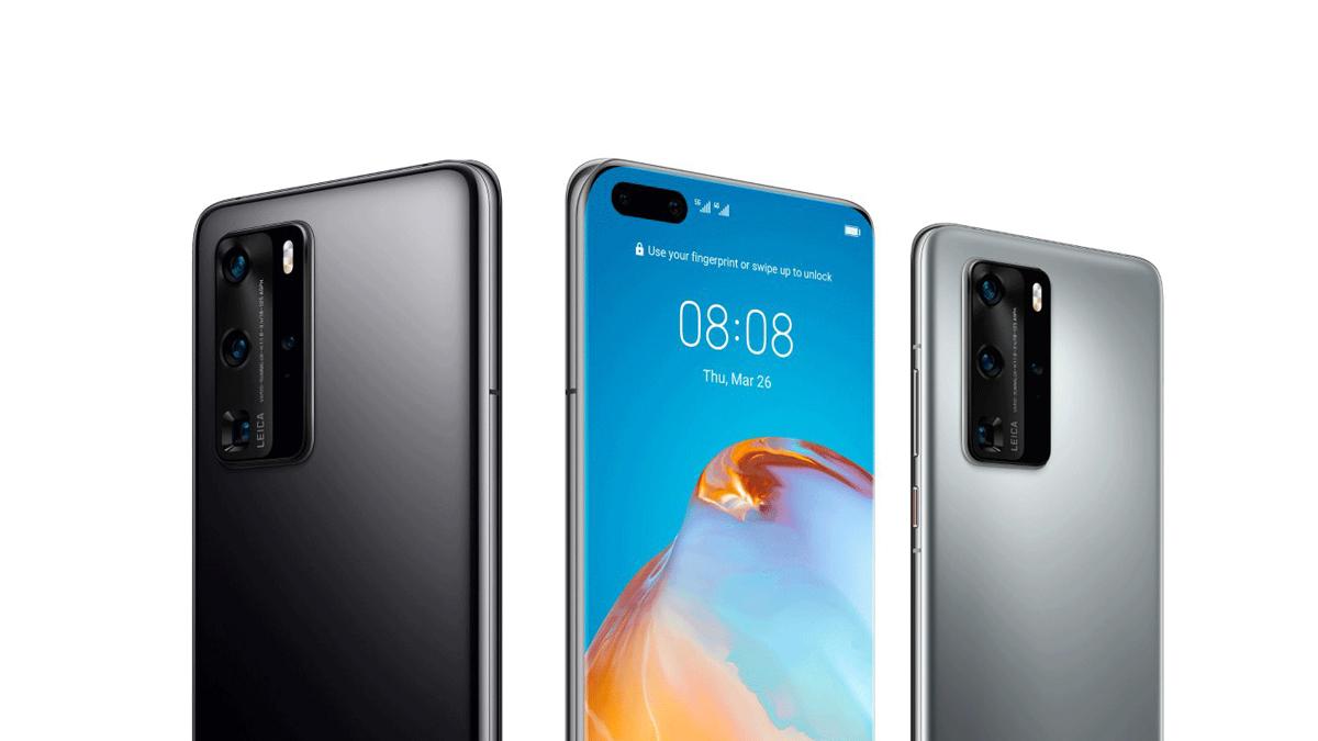 Huawei P40 a P40 Pro na tiskových renderech [aktualizováno]