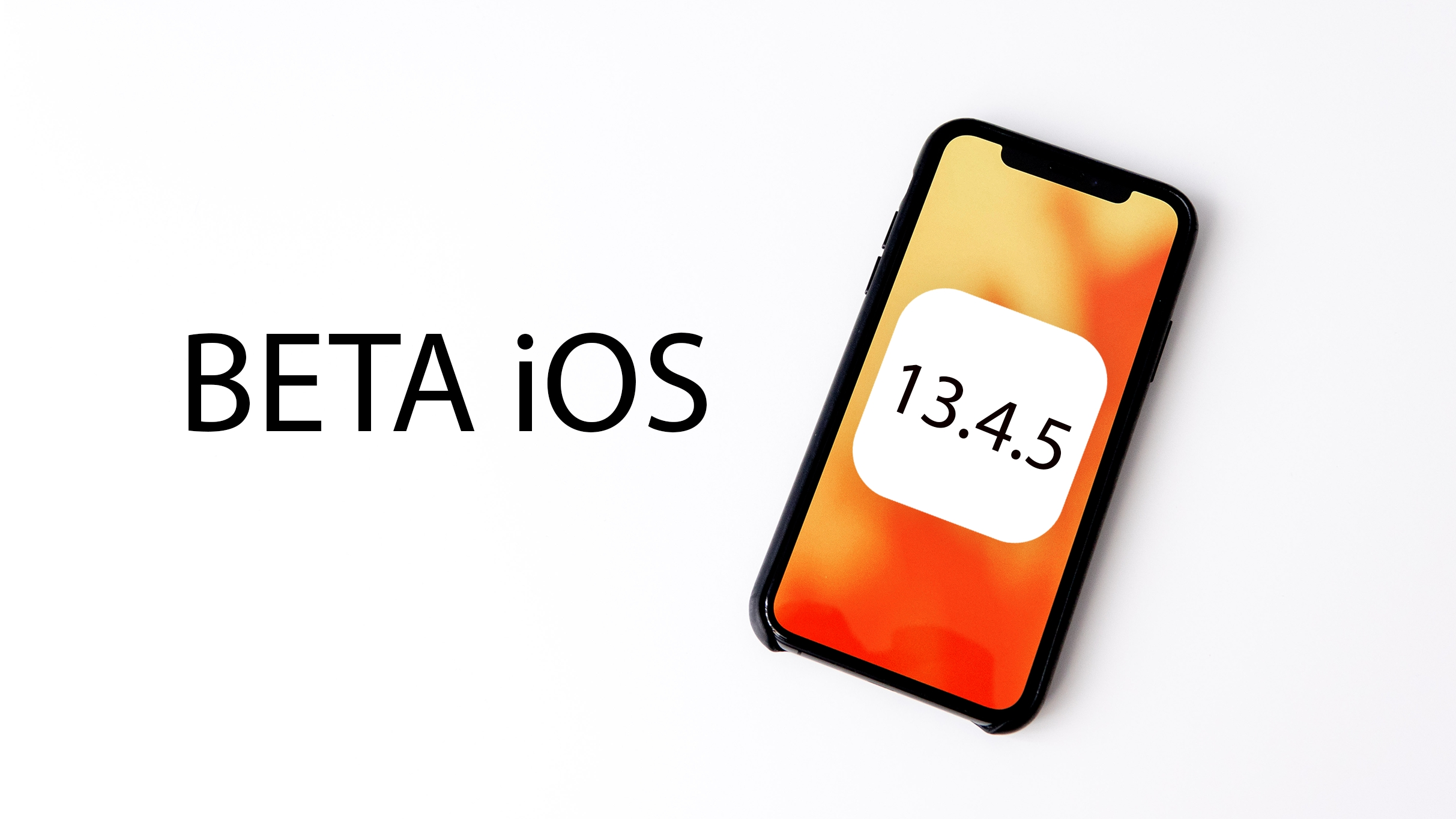 Apple vydal první betu iOS 13.4.5