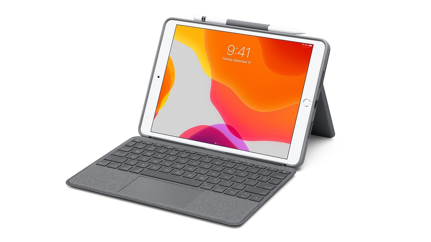 Logitech představil nové klávesnice pro iPad s touchpadem