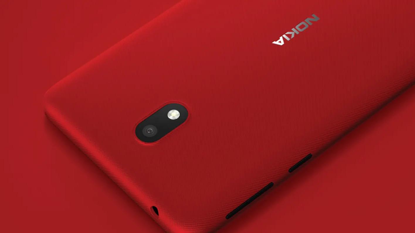 Nokia 1.3 poodhalena na tiskové fotografii