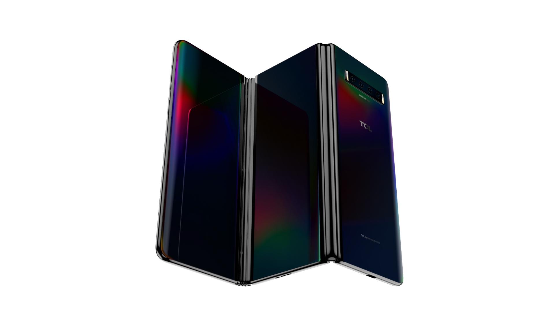 TCL představilo dva koncepty mobilů s ohebným displejem