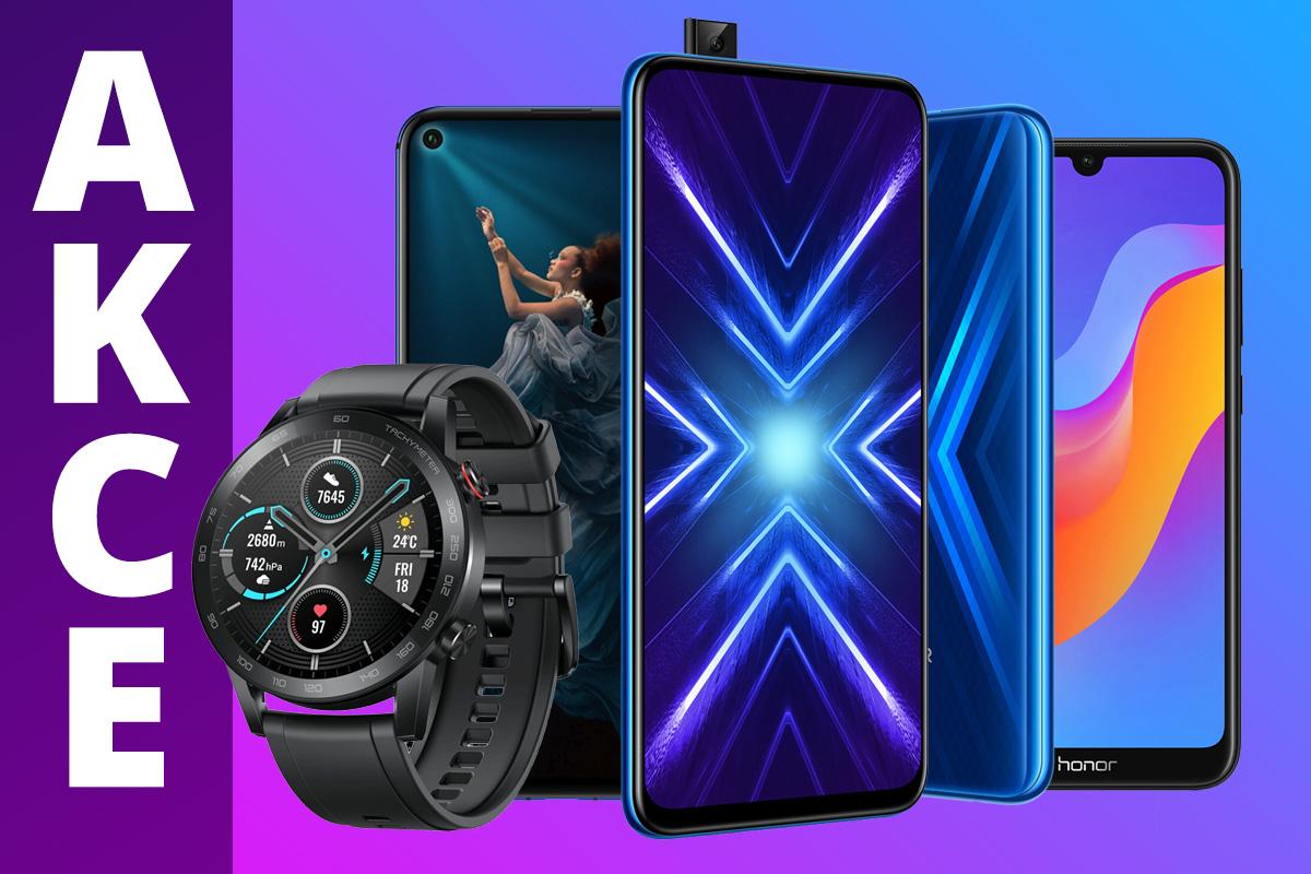 Smartphony i chytré hodinky od Honor teď pořídíte za rekordně nízké ceny [sponzorovaný článek]
