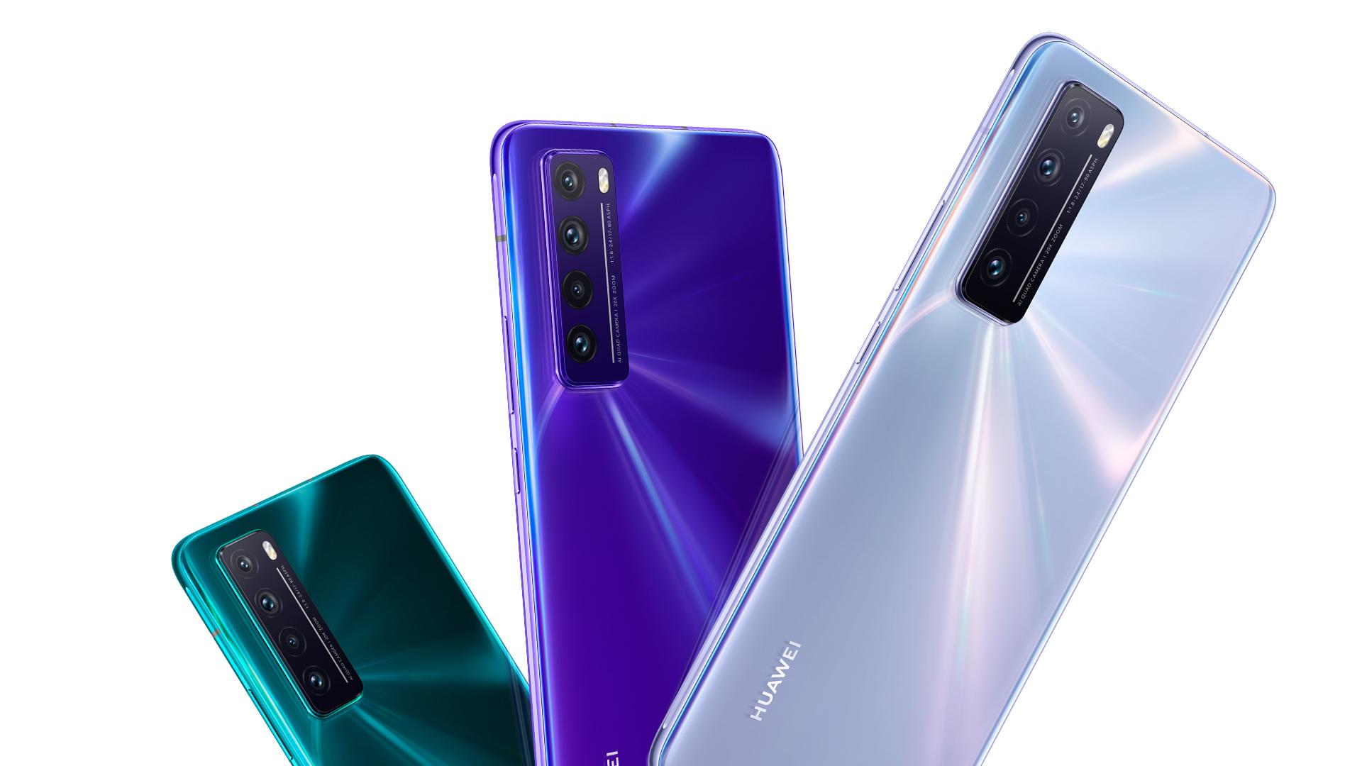 Huawei nelení, představil Nova 7 SE, Nova 7, Nova 7 Pro