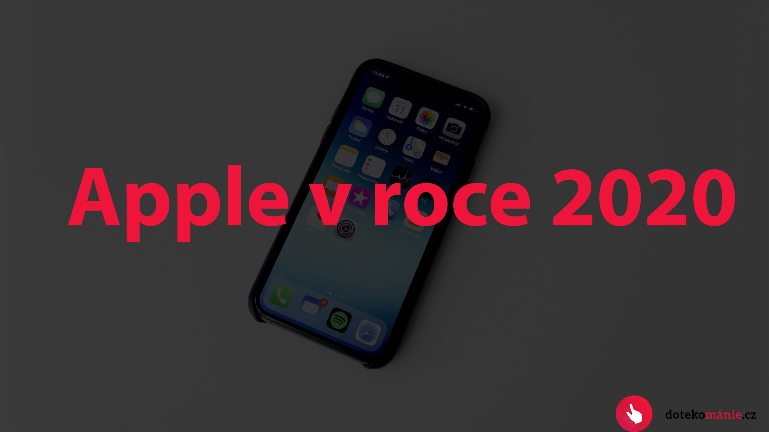 Apple a rok 2020 v kostce: 5G iPhony, o třetinu menší výřezy a další