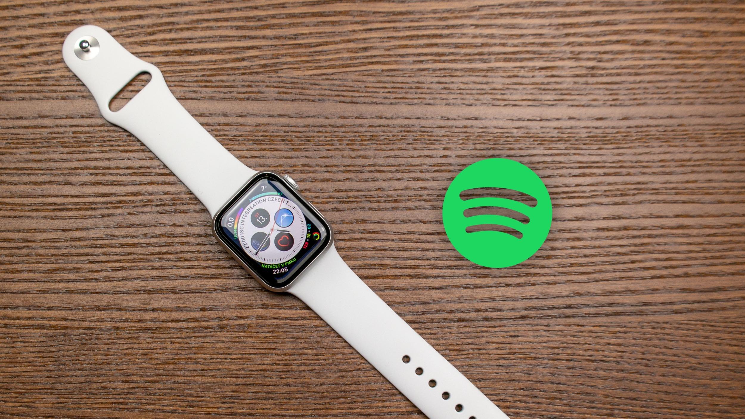 Spotify přidává očekávanou funkci pro Apple Watch